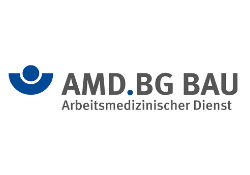 AMD der BG BAU logo
