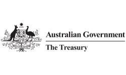 Australian Government Department of the Treasury logo