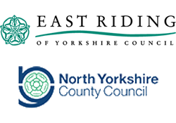 East Riding of Yorkshire Council & North Yorkshire County Council logo