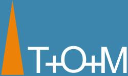 T+O+M logo
