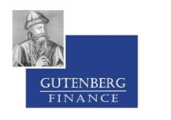 GUTENBERG FINANCE logo
