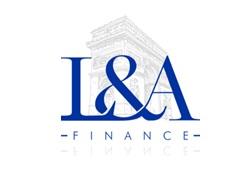 L & A Finance logo